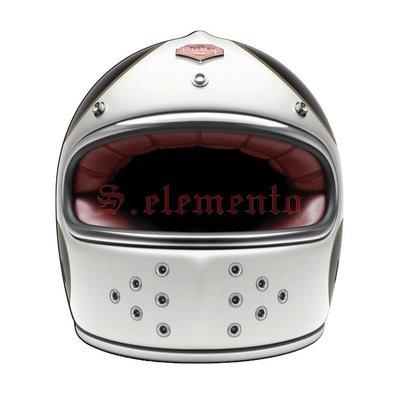【預購優惠】Ateliers Ruby 安全帽 Castel ECE Bonneville 碳纖維 全罩 復古帽
