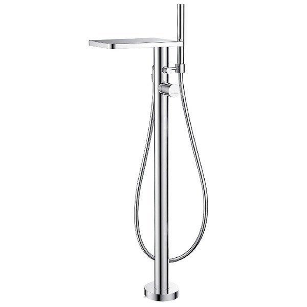 《101衛浴精品》BETTOR 瀑布出水 獨立式 浴缸龍頭 FH 8180-D87 歐洲頂級陶瓷閥芯【免運費】