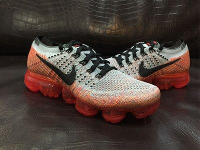 NIKE Wmns Air VaporMax Flyknit 女鞋 全氣墊 慢跑鞋 849557-026 灰橘