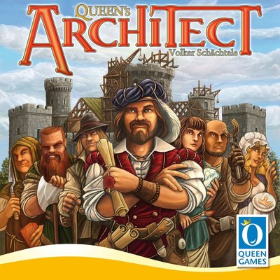 【陽光桌遊世界】(免運) Queen's Architect 皇后的建築師 策略遊戲 德國桌上遊戲 Board Game