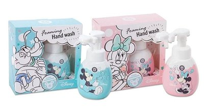 少量現貨! 台灣直送 米奇/米妮造型洗手清潔泡泡 (250ml)