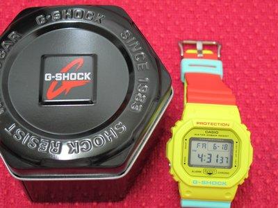 LIN老闆 6 ~ CASIO G-SHOCK DW-5600CMA-9DR 雷鬼 紅黃綠 糖果 限定 DW-5600