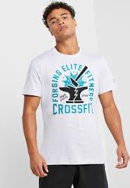 FOCA  REEBOK CrossFit®  混合健身 T恤 短袖T 經典 健身 短T 灰色 FK4334