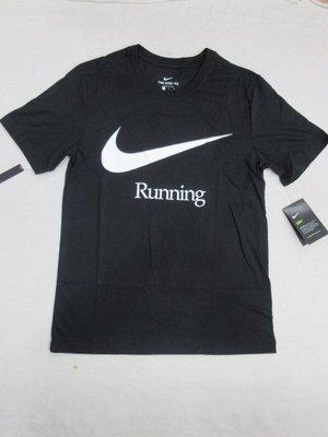 【NIKE】~NIKE DRY RUN 男短袖圓領衫 針織衫 T恤 慢跑上衣 排汗衫 吸濕排汗 CK0638-010 黑