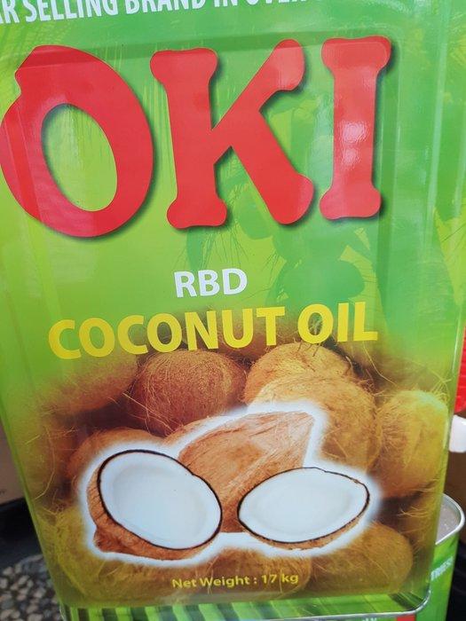 oki食品級椰子油.17kg,1150元含運
