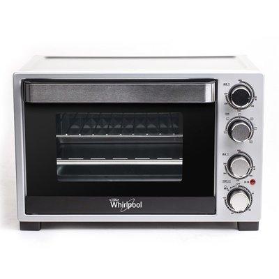 Whirlpool 惠而浦 32公升 雙 溫控 旋風 烤箱 旋風烤箱 WTO320DB