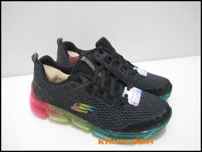 【喬治城】SKECHERS 女款 慢跑鞋 運動 低筒 氣墊 路跑 透氣(黑彩)13221BKMT