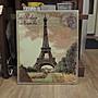 巴黎鐵塔壁畫 艾菲爾鐵塔麻布畫 巴黎鐵塔圖...