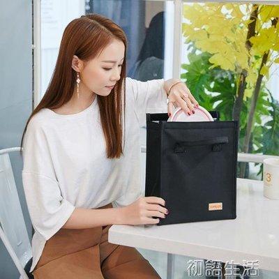 加厚帶飯手提包飯盒袋牛津布防水便當包早餐鋁箔保溫袋學生午餐包
