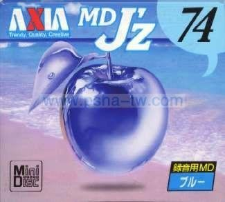 ~P-sha~毘社 *限量版*AXIA MD空白片【MDJZ74B(74分單片)】