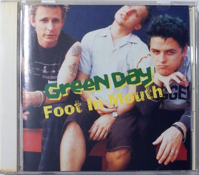Green Day - Foot In Mouth (初回限定盤) 二手日版