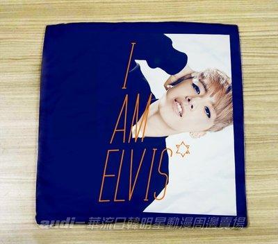【須預購】田亞霍 35X35公分 方型抱枕套 靠枕套 枕套 靠墊套 ELVIS 35X35cm 枕套訂做