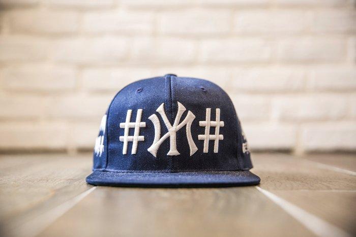 【紐約范特西】現貨 40oz NYC × BEEN TRILL SNAPBACK CAP OZ0010-4 藍色