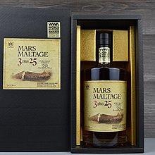 Mars 3+25 本枋酒造 日本威士忌 Mars Whisky