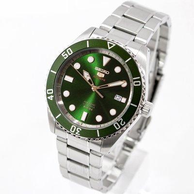 現貨 可自取 SEIKO SRPB93K1 精工錶 機械錶 手錶 44mm 盾牌5號 綠水鬼 男錶女錶