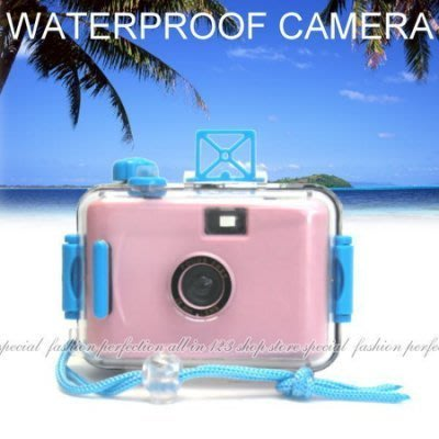 韓版防水相機 潛水相機 海邊衝浪浮潛游泳 泡溫泉 LOMO相機