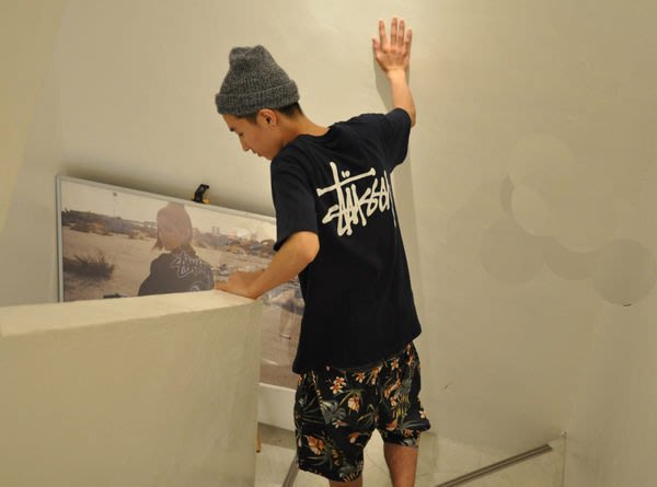 【超搶手】 2014 春季 STUSSY PARADISE SHORT 扶桑花 滿版 短褲 黑 藍 W30 32 34