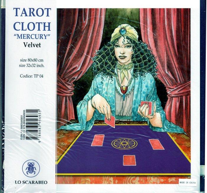 【牌的世界】神奇水星占卜方巾(Mercury Tarot Cloth)聖甲蟲原裝進口