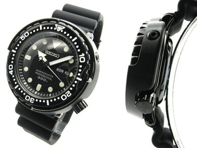 『J-buy』日本~SEIKO 精工 PROSPEX 專業潛水錶 SBBN035 石英 膠鮪