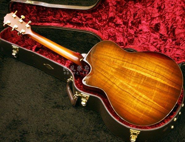 《民風樂府》Taylor K26ce 全豪華夏威夷相思木 極致精品 頂級工藝 全部售出 接受預訂中