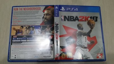 PS4 NBA 2K18 中文版 直購價600