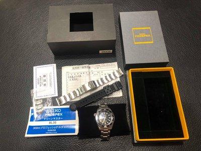 日本原裝 SEIKO SBDX001 有單有盒 精工水鬼 SBDX017 rolex116610 16610