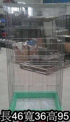 ❤❤夢工廠寵物家❤❤加高屋型白鐵鳥籠(也可當蜜袋鼯活動籠)