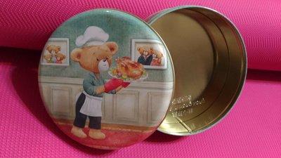 大清倉 滿500免運 香港Jenny Bakery珍妮曲奇小熊餅乾四味/4mix 小盒320g 空鐵盒 聰明小熊版