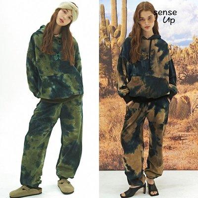 活動促銷·SENSEUP20秋韓國正品NASTY FANCY設計師品牌連帽衛衣褲子套裝