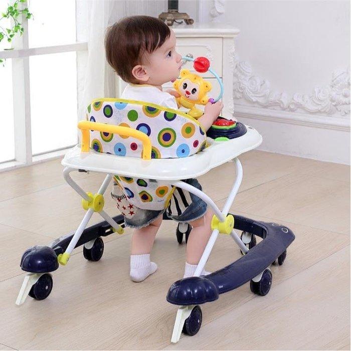 嬰兒童寶寶學步車6/7-18個月多功能防側翻手推車可坐帶音樂助步車FA