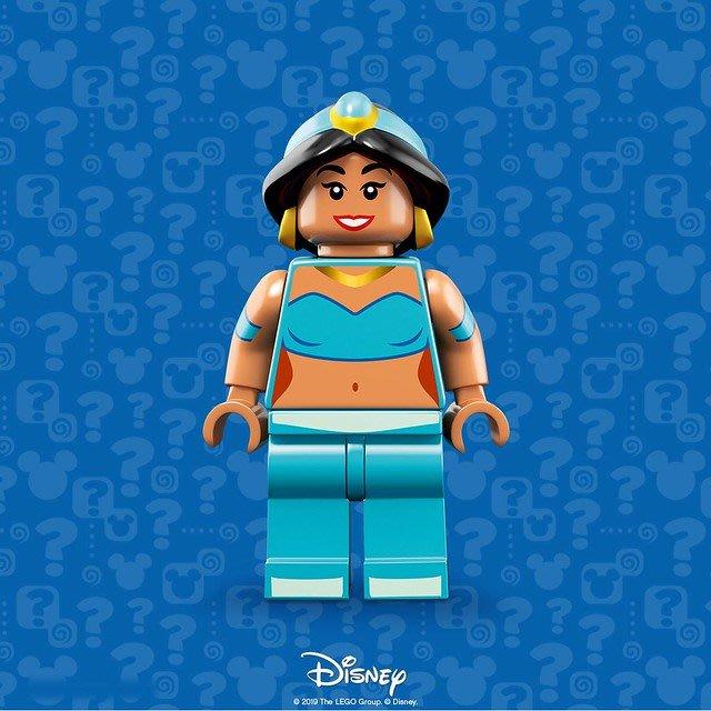 【LEGO 樂高】積木 / 人偶包系列 迪士尼2 DISNEY 71024 | #12 阿拉丁 茉莉公主 Jasmine