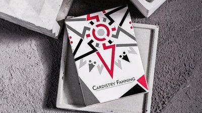 【天天魔法】【S1451R】正宗原廠~Cardisty Fanning(紅色版撲克牌)