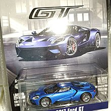 Greenlight 1/64 2017 Ford GT 全藍色