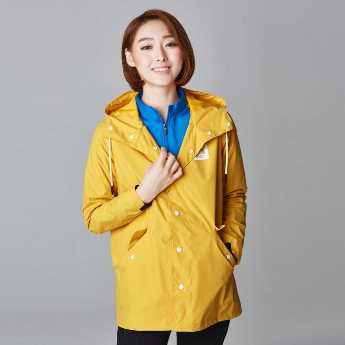 保暖風衣 AIRTEX戶外風衣雨衣防水女中長款單層 衝鋒衣 防水登山夾克外套