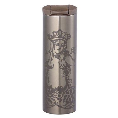 ㊣星巴克 Troy 女神不鏽鋼隨手杯16oz (475ml)隨手杯  Starbucks~不锈鋼