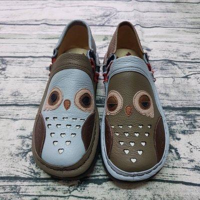 THE ONE 麥肯納風格 彩虹鞋 (指定色 灰色 )  貓頭鷹系列 懶人鞋 氣墊鞋 休閒鞋 一腳蹬 包鞋足弓支撐