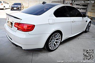 【政銓企業有限公司】BMW E90  E92 E93 M3 後保 抽真空 高品質 雙面 卡夢 定風翼 現貨  免費安裝