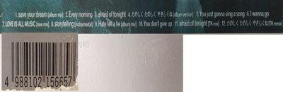 二手專輯[華原朋美Tomomi Kahala  storytelling]紙盒套+膠盒+寫真歌詞摺頁+CD,1997年