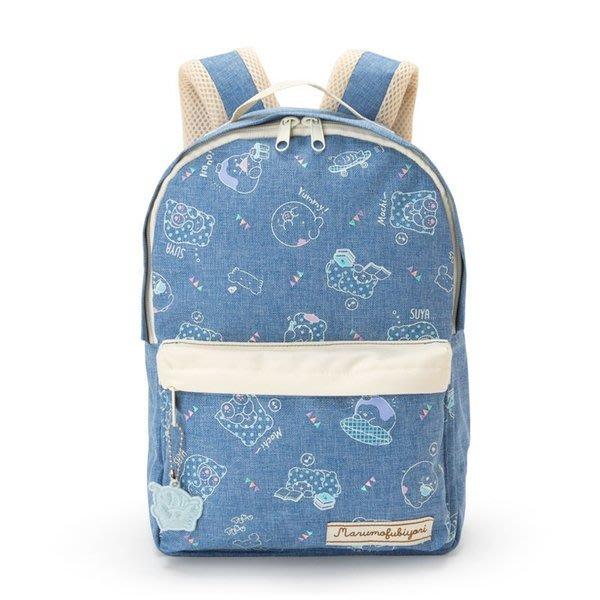 代購現貨 日本三麗鷗抹布熊 牛仔布拉鍊後背包