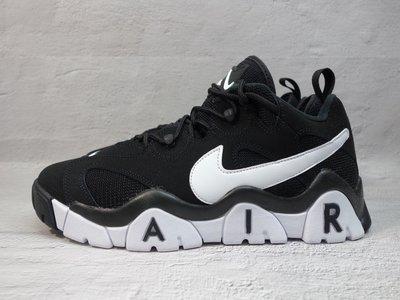 [麥修斯] NIKE AIR BARRAGE LOW 休閒鞋 氣墊 穿搭 時尚 復古 黑白 男款 CD7510-001