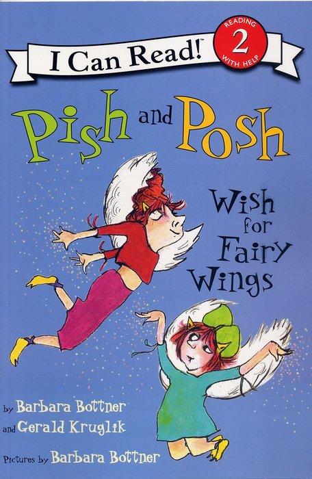 *小貝比的家*PISH AND POSH WISH FOR FAIRY WINGS / L2/平裝書+CD/3~6歲