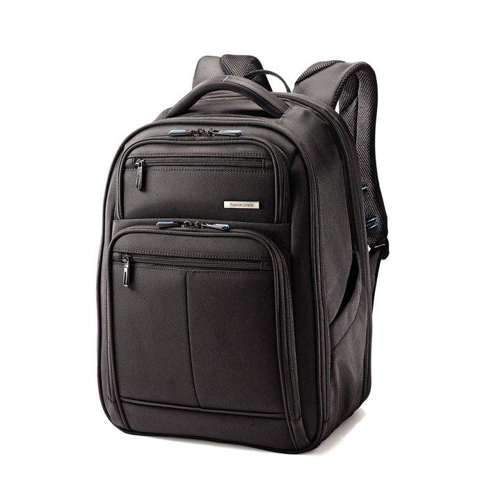 Coco小舖 Samsonite Novex Perfect Fit Laptop Backpack 黑色大款筆電後背包