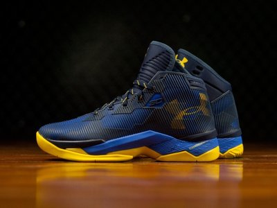 Under Armour Curry-2.5 Dub Nation Royal 1274425-400咖哩勇士隊藍黃UA