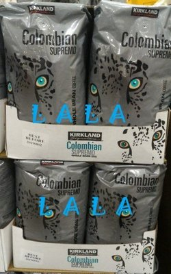 KIRKLAND 科克蘭 哥倫比亞咖啡豆  1.36公斤 好市多 Costco 代購