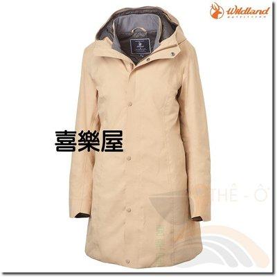 荒野Wildland 女長版保暖外套 OA62901-82 PRIMALOFT 防水外套 防風時尚外  喜樂屋戶外