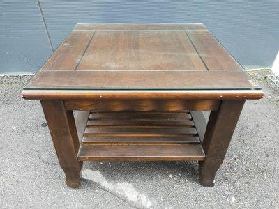 非凡二手家具 復古實木方形小茶几*和室桌*茶几桌*客廳桌*沙發桌*矮桌*泡茶桌*餐桌*造型桌*邊桌 台中市