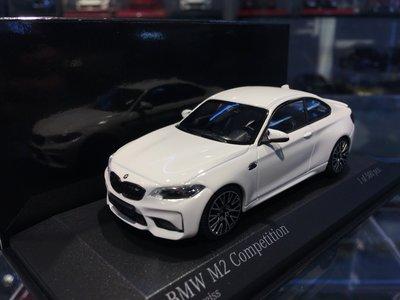 吉華科技@MINICHAMPS BMW M2 Competition 白色 1/43