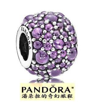 {{潘朵拉的奇幻旅程}} Fancy Purple CZ # 791755CFP