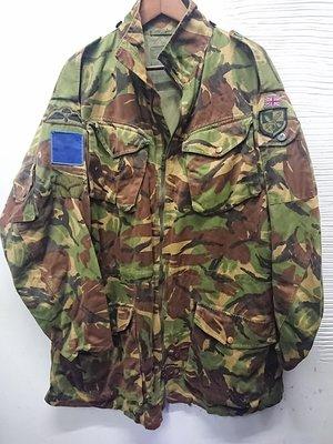 英軍公發DPM 190/112老款傘兵風衣夾克denison para smock pattern 直購含運