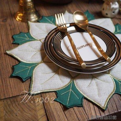 圣誕節圣誕紅冬青葉餐墊/限量版紅配綠餐墊隔熱墊YLG26